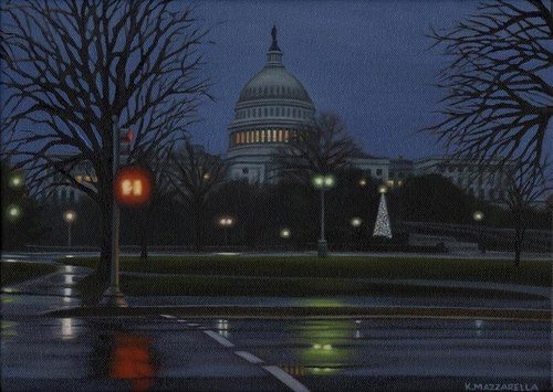 US Capitol in December (large view)