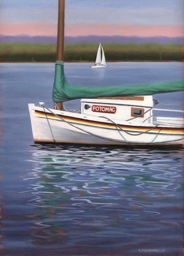 Potomac Sailboat (large view)