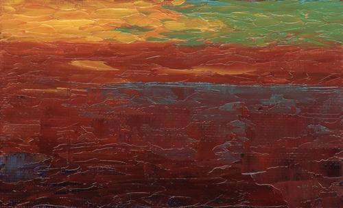 Sunset Elemental (large view)