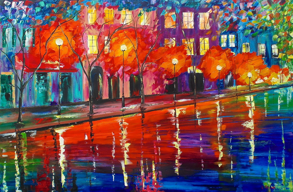 Colorful Night- SOLD (Prints Available) (large view)