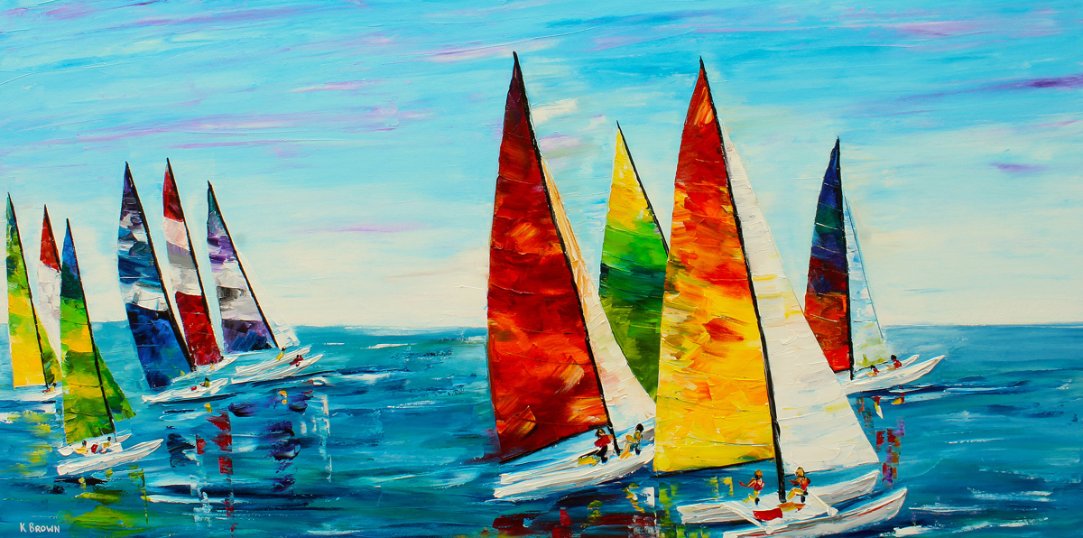Sailboat Race (large view)