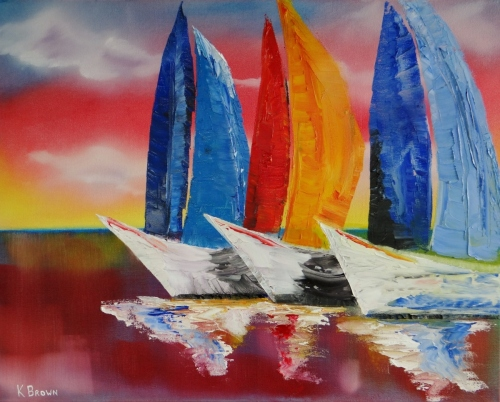 Sailboat - SOLD (Prints Available)