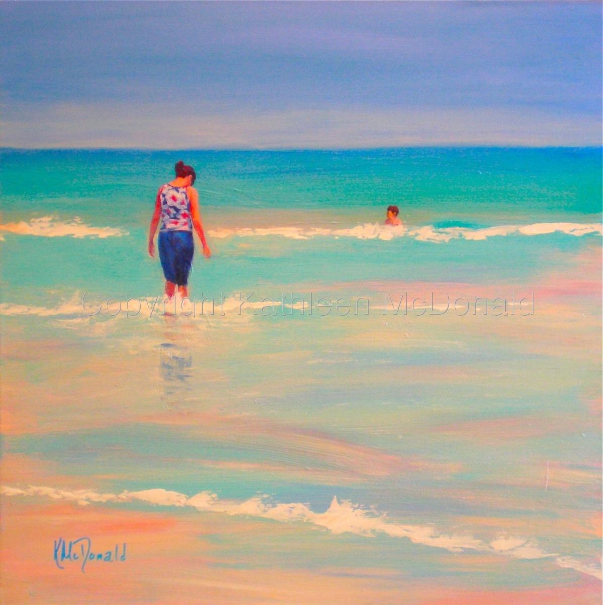 Mother Love Lido Beach Sarasota Fl By Kathleen Mcdonald