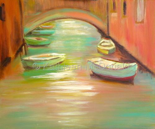 Four Boats, Venice