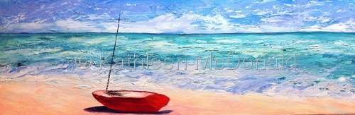 Red Boat, Venice Beach, Florida