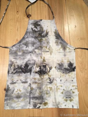Eco Printed Apron