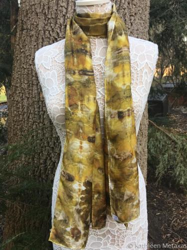 Eco Printed Scarf