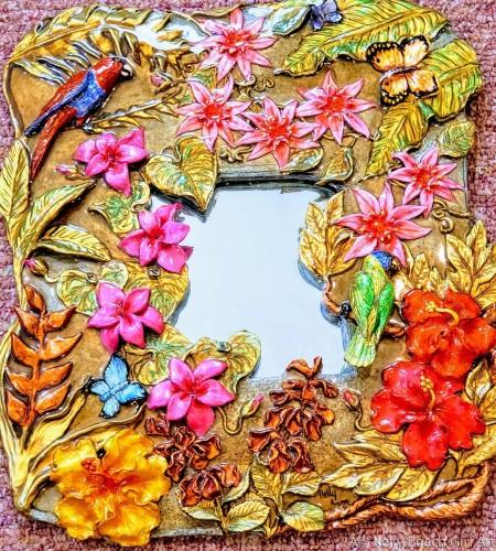 Passionflower Mirror