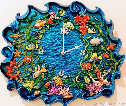 One Fish, Two Fish clock