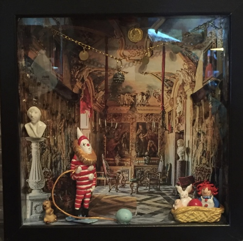 Shadow Box-Clown and Friends