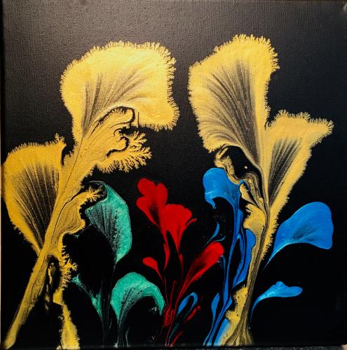 HANEEN KIGAR: Orchids in the Dark