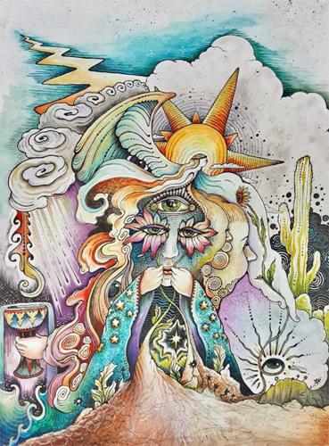 ALEXIS PALMAFFY: Flower Mask