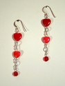 Red Hot Love Earrings (thumbnail)