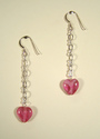 Little Sweet Heart On A Chain Earrings (thumbnail)