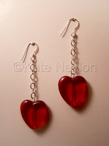 Heart of Glass Earrings