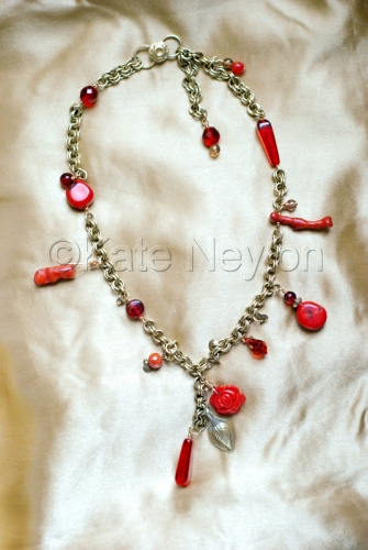 Sacred Rose Necklace by Kate Neylon