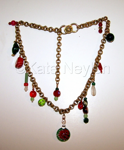 Watermelon Charm Necklace