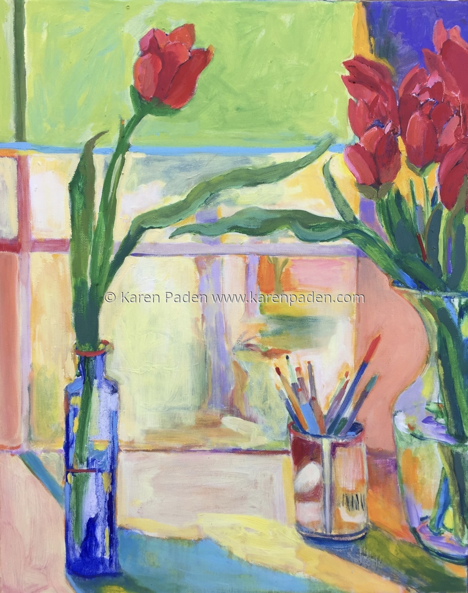 """spring Tulips"" (large view)"