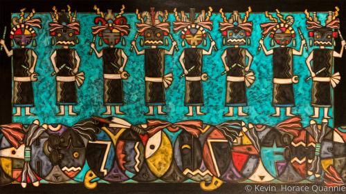 Transformation of katsina chiefs and Hopi Insects Katsinas