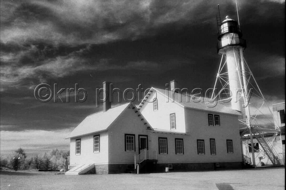 Whitefish Point Lighthouse (large view)