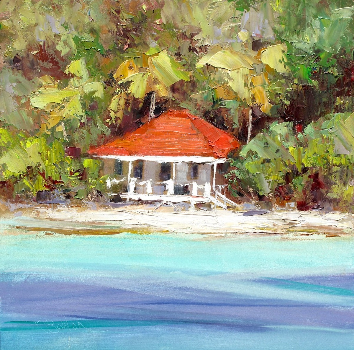 Little Thatch, BVI, Honeymoon Cottage 4 (large view)
