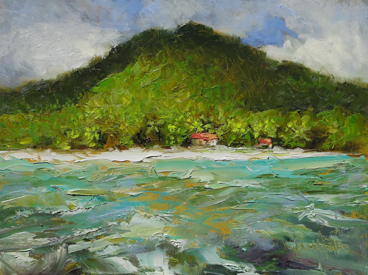 Maho Bay Study (large view)