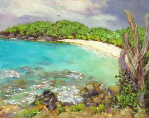 Turtle Bay, St. John by Kimberly Boulon