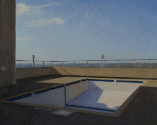 Poolscape 8 (Minneapolis Rooftop)
