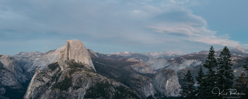 Half Dome (pano) by Onekiel Photography