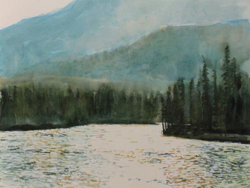 The Athabasca River, nr Jasper, Alberta, Canada