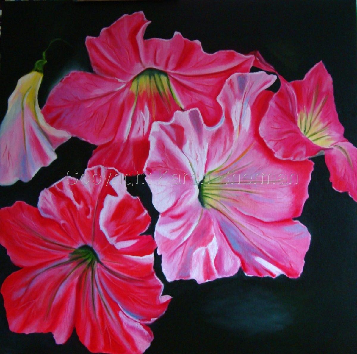 """Petunia Cluster"" (large view)"