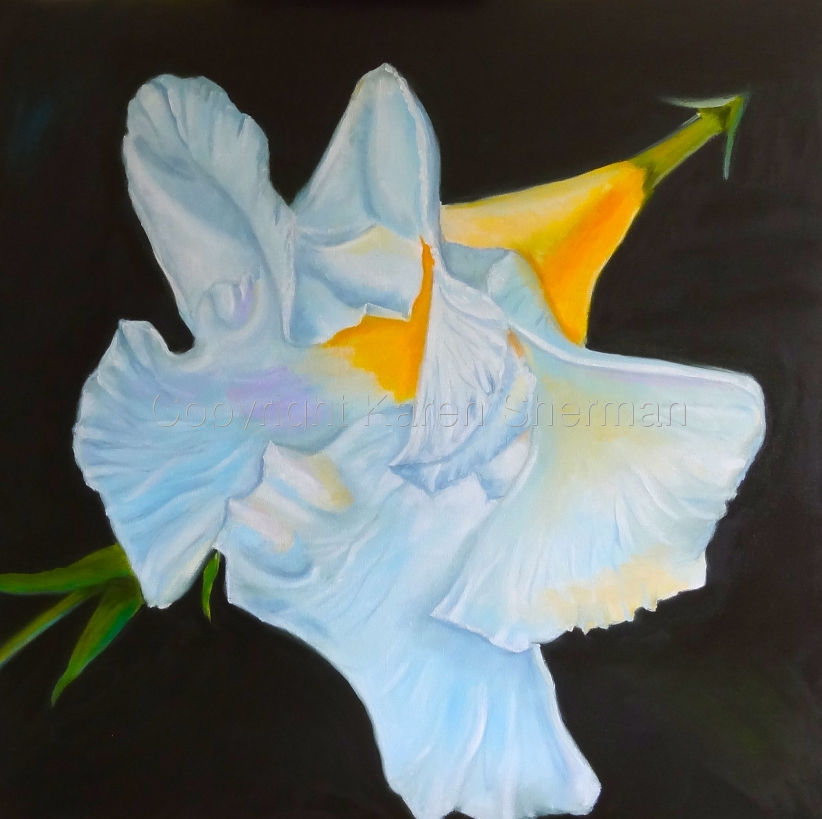 """Trumpet Flower"" (large view)"