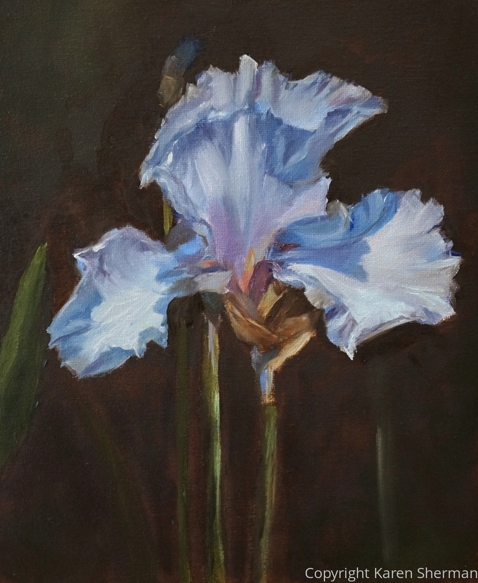 """Blue Iris"" (large view)"