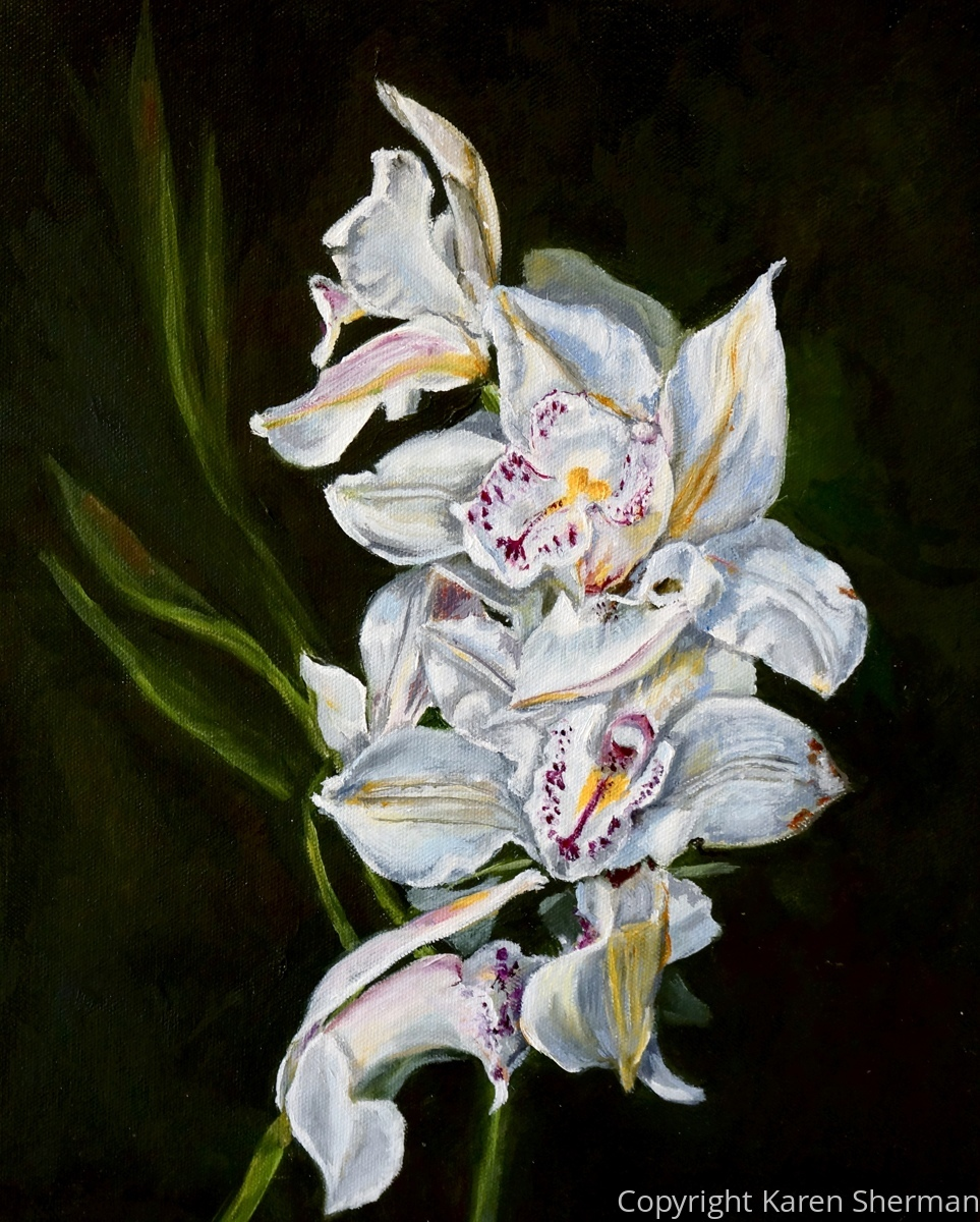 """Orchids"" (large view)"