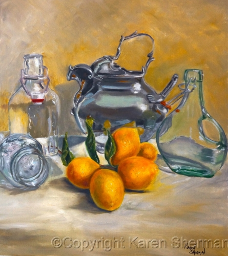 Lemons and Pewter