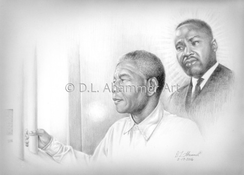 Mandela and Martin Luther King, Jr.