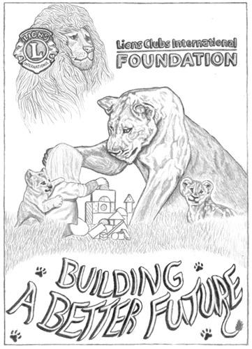 Lions Club Advertisement