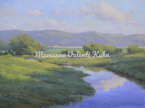 Summer Serenity by Marianne  V.  Kuhn