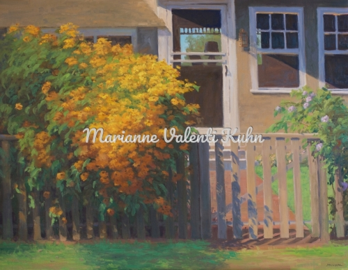 The Black-eyed Suzie Cottage by Marianne  V.  Kuhn