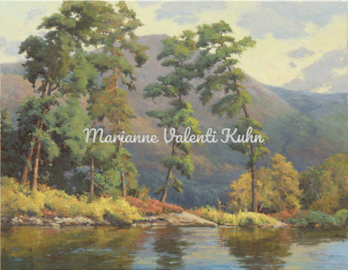 Phantom Isl. Trees and Tongue Mt. by Marianne  V.  Kuhn
