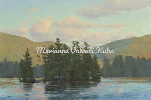 Sunset View from the Algonquin by Marianne  V.  Kuhn