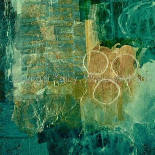 Around and Around We Go  by Kathy  Woodworth's Art