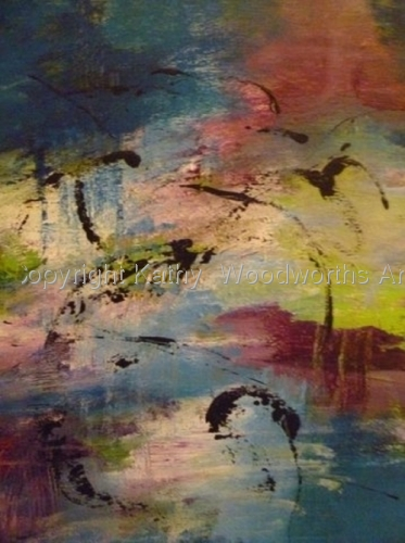 The Swamp by Kathy  Woodworth's Art