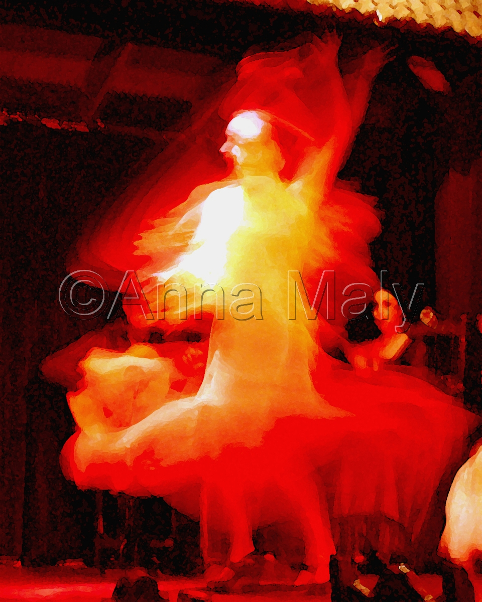 Red hot flamenco (large view)