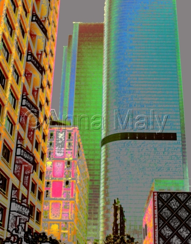 City Scapes digitography