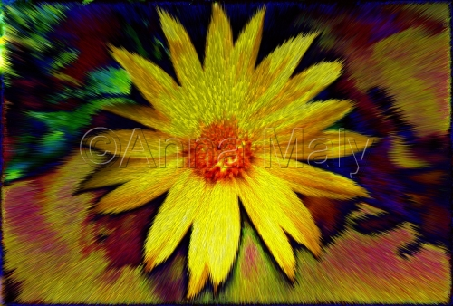 yellow flower trip