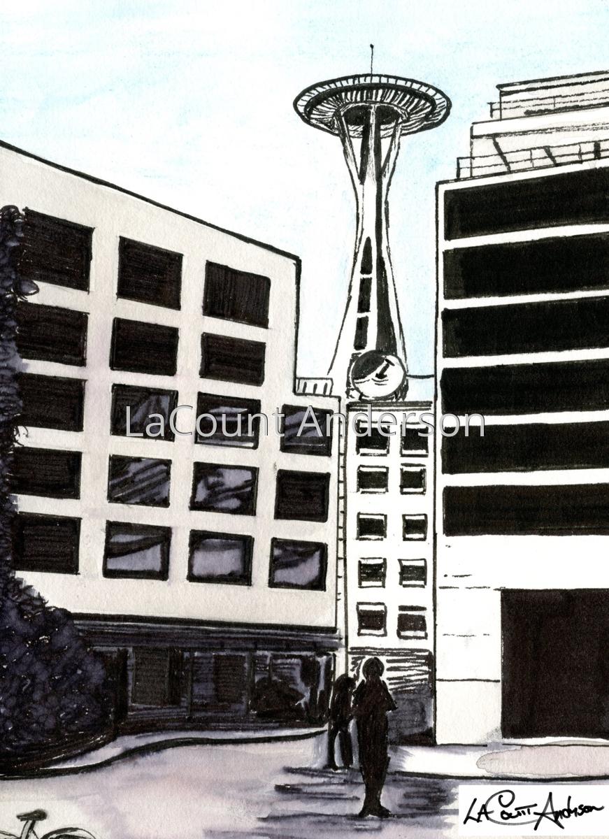 Space Needle, Seattle, WA (large view)