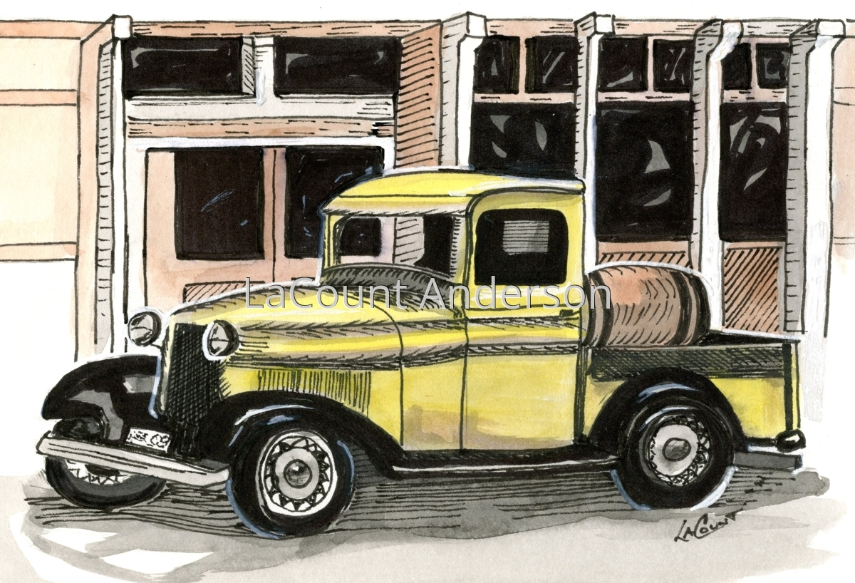 Yellow Truck (large view)