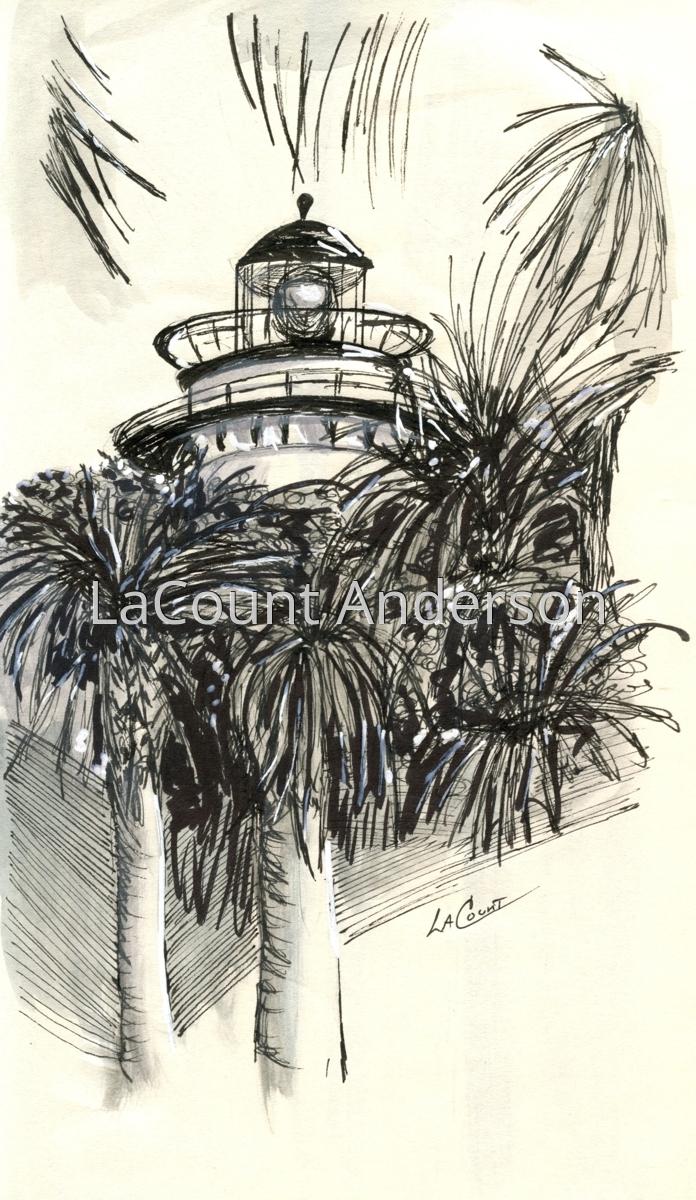 Lighthouse, St. Simons Island, GA (large view)