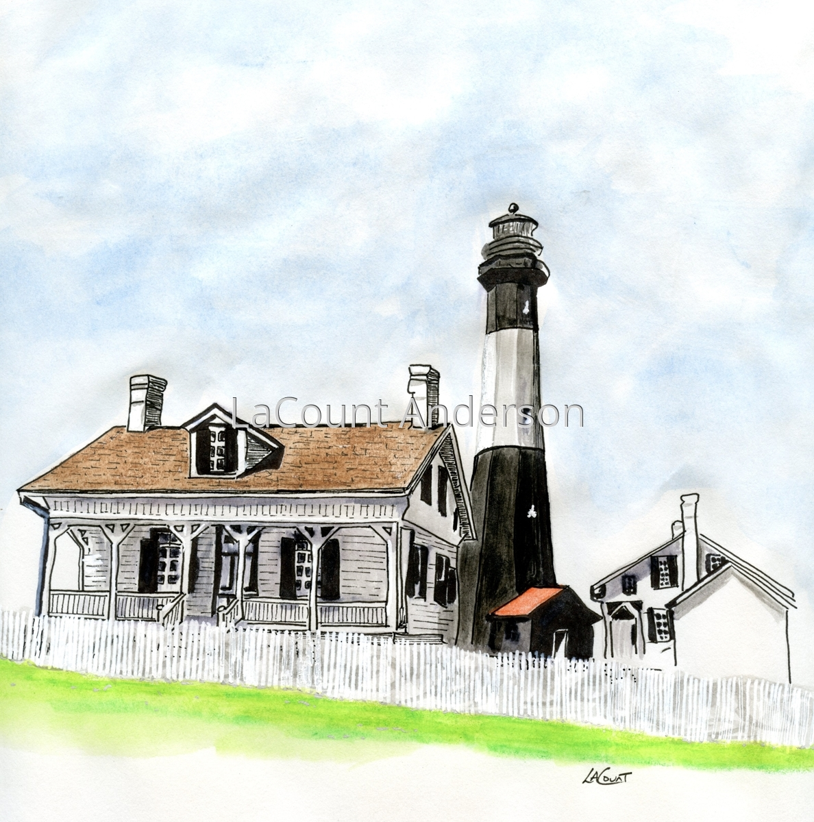 Tybee Lighthouse (large view)